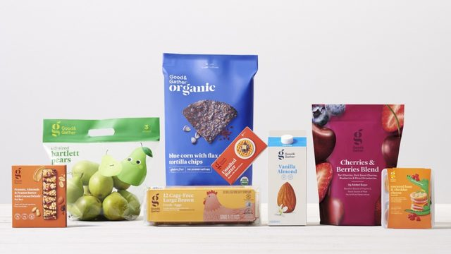 Target is launching its new food, beverage line in September