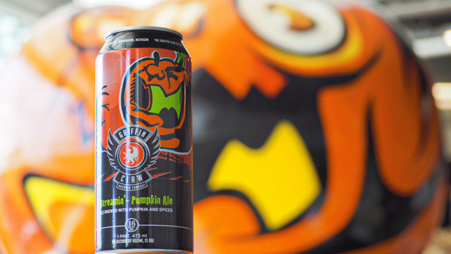 Griffin Claw Brewing Co.'s Screamin' Pumpkin Ale returns this week