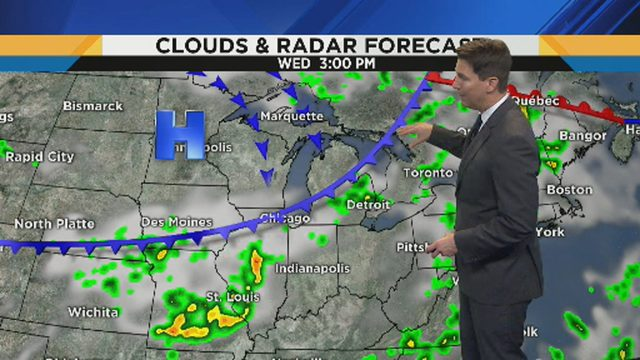 Metro Detroit weather: Storm chances continue with warm, humid conditions