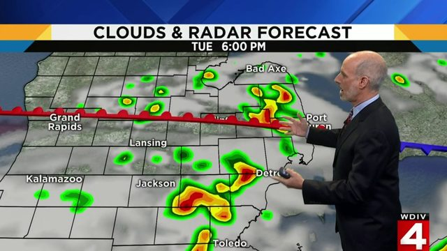 Metro Detroit weather: Severe storm threat Tuesday afternoon