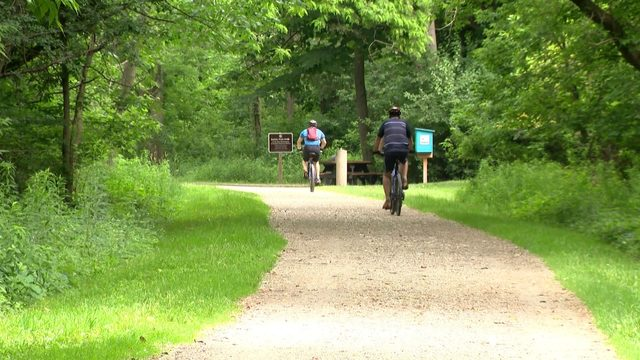Take a hike on the Paint Creek Trail in Oakland County