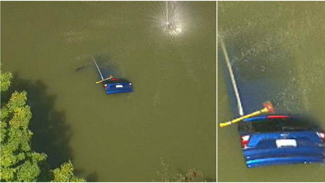 Women pulled from car that crashed into Waterford Township pond die