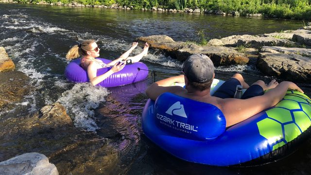 You can tube down these cascades in Ann Arbor! Here's how!