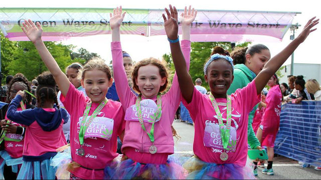 Girls on the Run celebrates 18 years of after-school programs for Ann…