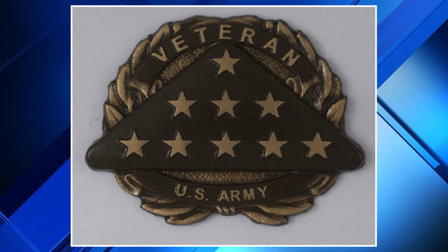 Veteran emblem stolen from headstone at Oakview Cemetery in Royal Oak