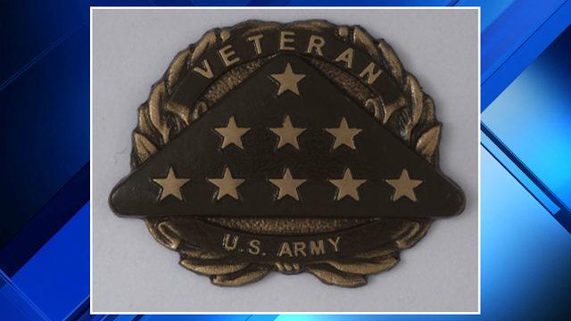 Veteran emblem stolen from headstone at Oakview Cemetery in Royal Oak