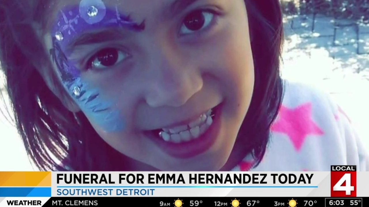 Funeral service for girl attacked, killed by pack of dogs begins at noon Saturday in Detroit