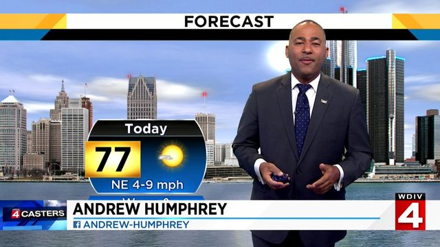 Metro Detroit weather forecast: Sunny Saturday afternoon