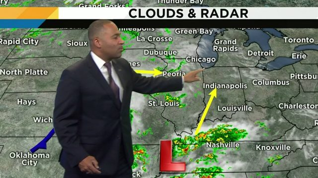 Metro Detroit weather: Mild Sunday evening with some clouds