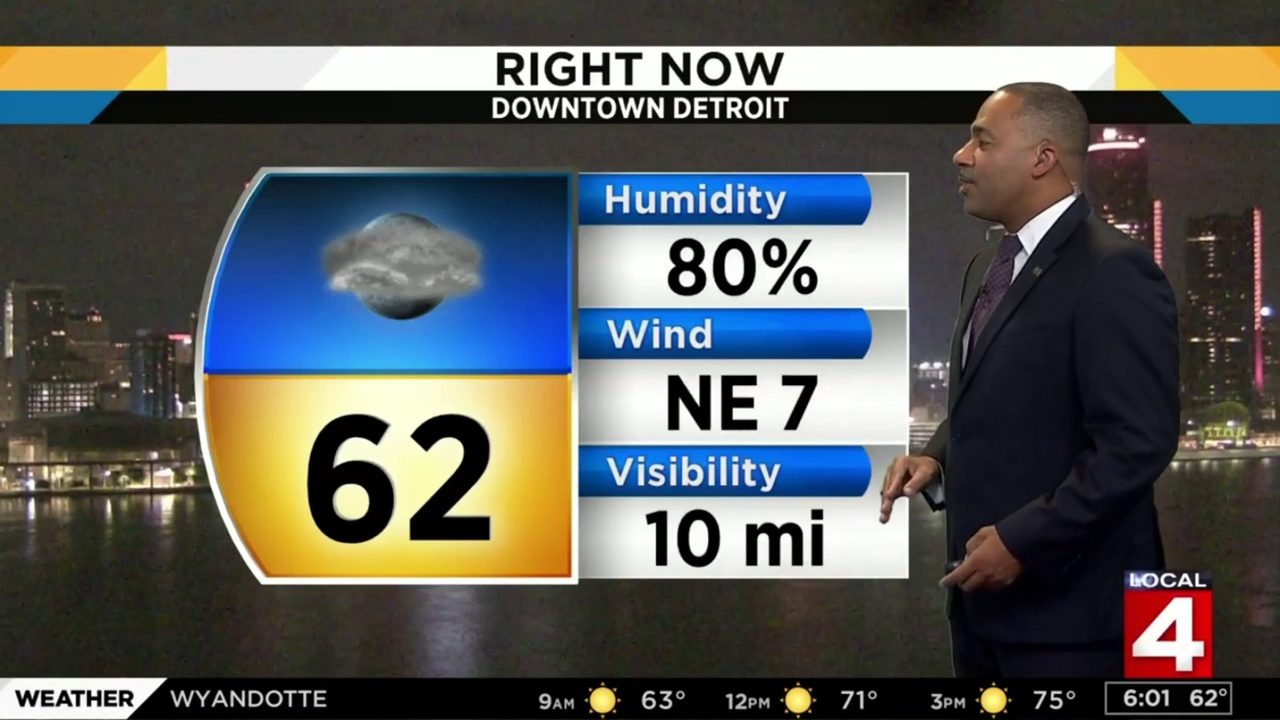 Metro Detroit weather forecast: Cool Sunday morning with afternoon sunshine ahead