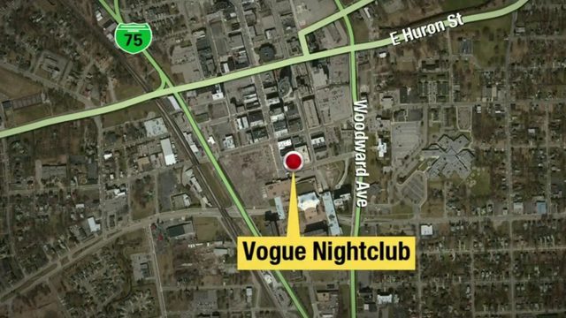 3 shot outside Vogue Nightclub in Pontiac