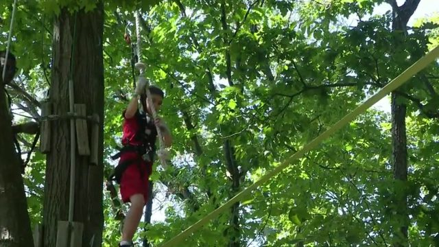 Check out Treerunner Adventure Park in West Bloomfield