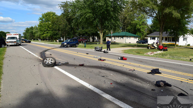 Couple on motorcycle killed by 'erratic' driver who crossed center line…