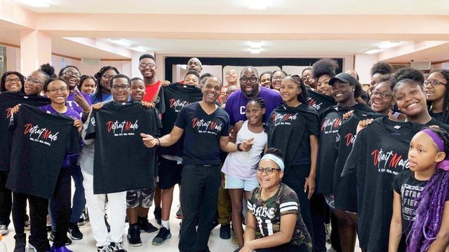 Local company donates T-shirts to Detroit Youth Choir