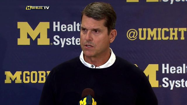 14 most important things Jim Harbaugh said in final week before Michigan…