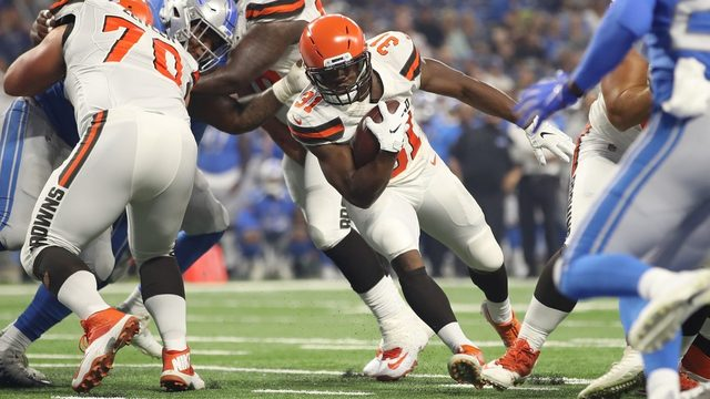 Lions vs. Browns: Follow live game updates here