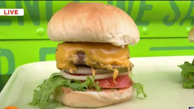 Here's a sneak peek at the Wahlburgers' menu for Arts Beats and Eats!