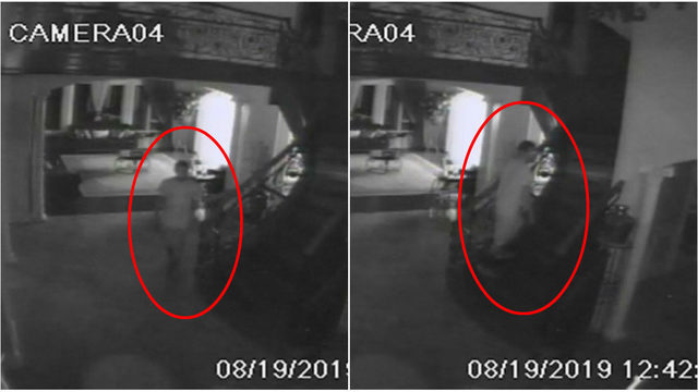 Video shows invader creeping through Troy home before touching sleeping…