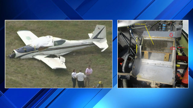 NTSB investigates engine issues after plane crash killed 2 men near…