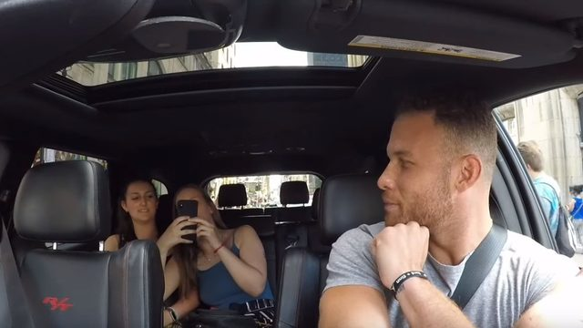 WATCH: Pistons star Blake Griffin surprises fans as cab driver