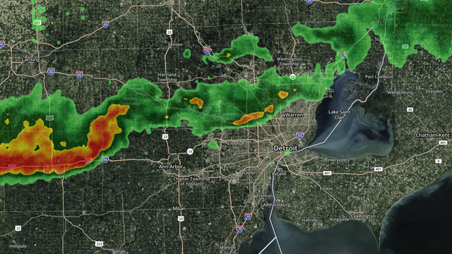 Thunderstorm warning issued for Washtenaw County