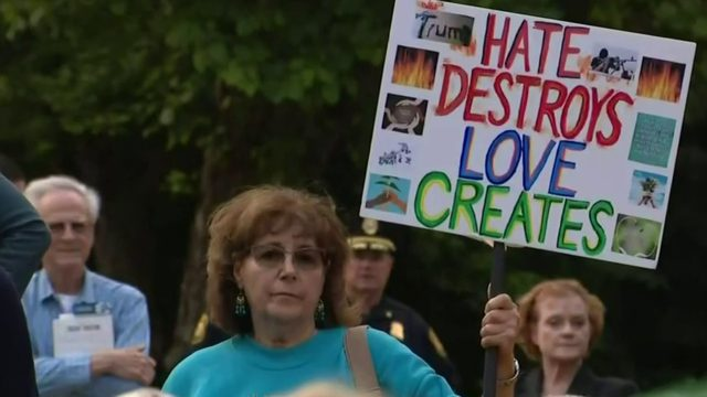 Take on Hate rally at University of Michigan-Dearborn hopes to inspire…