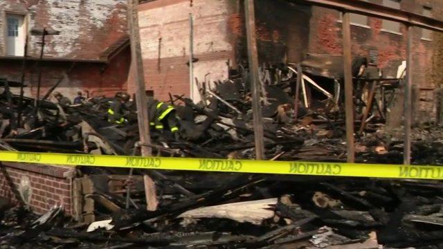 3 buildings destroyed in 2-alarm fire in Detroit's Mexicantown neighborhood