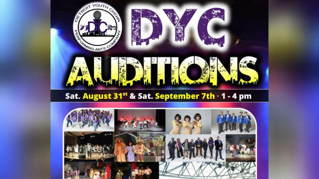 Detroit Youth Choir auditions being held Saturday, Sept. 7