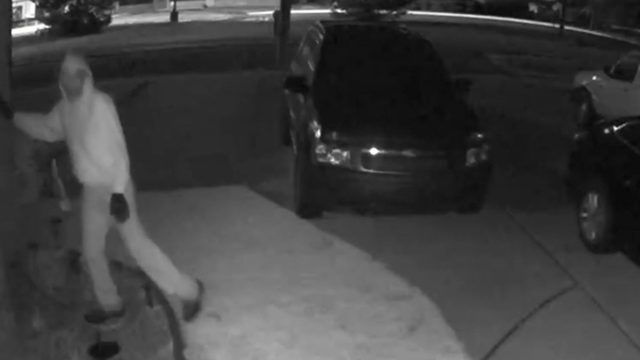 New Baltimore police issue alert after prowler spotted on home security camera