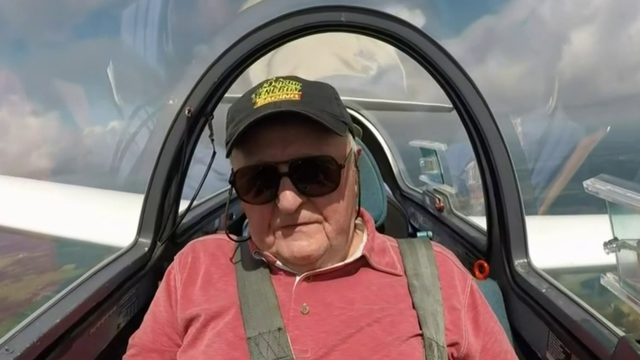 90-year-old Metro Detroit man reaches 3,000 feet to check gliding off…