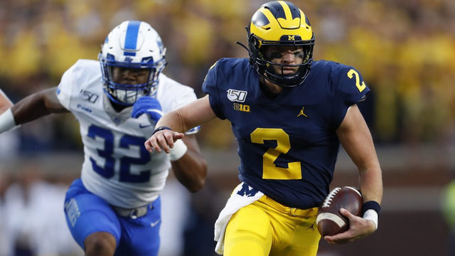 Michigan football will be dangerous if Shea Patterson can get back on track