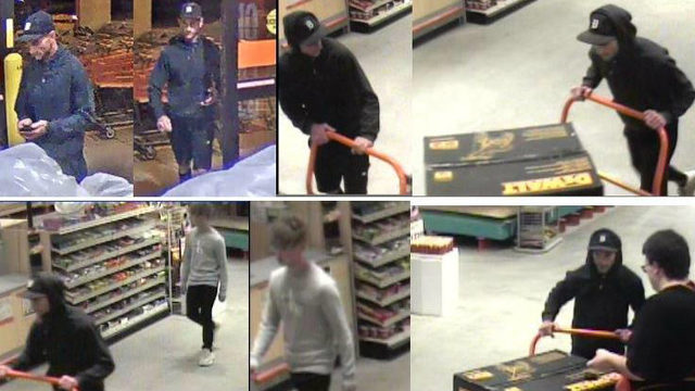 Men wanted by Utica police for stealing power washer from local retailer