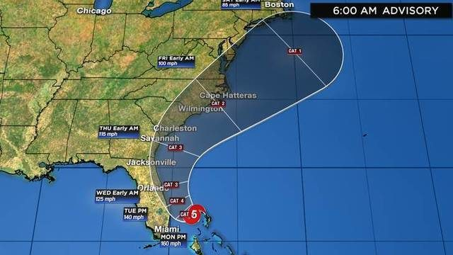 Hurricane Dorian: List of Florida evacuation zones, mandatory