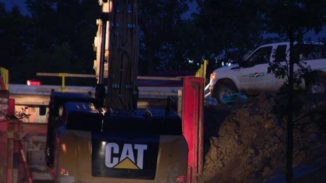 Northbound I-75 undergoing emergency repairs in Troy