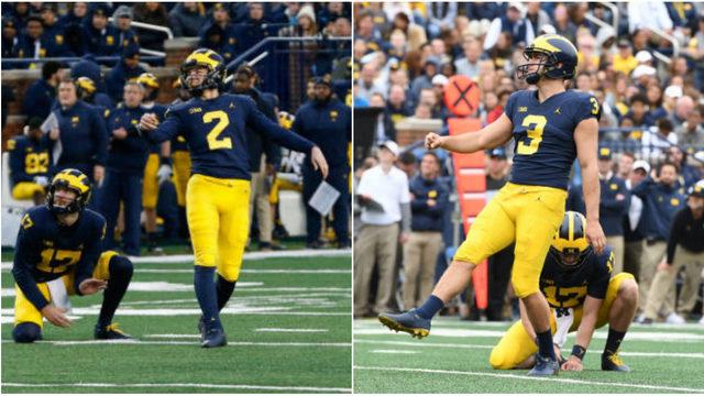 Jim Harbaugh explains Michigan football's unusual plan for kickers Jake…