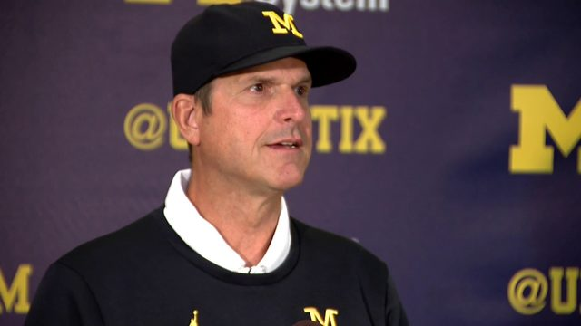 Jim Harbaugh breaks down 35 players after Michigan football's opening win