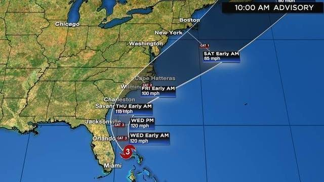 LIVE DISCUSSION: Tracking Hurricane Dorian