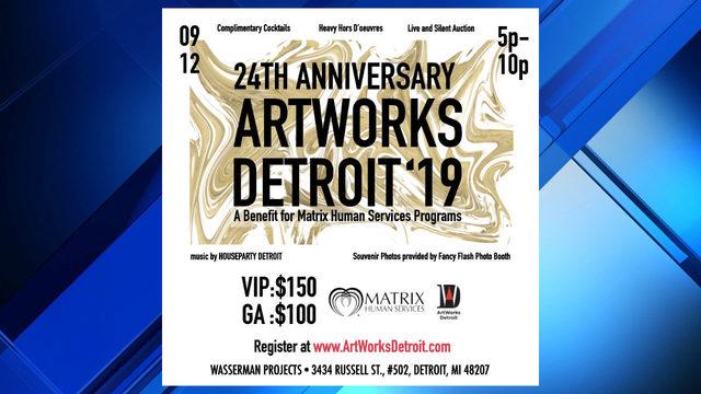 Dozens of artists auctioning off artwork to benefit Detroit organization