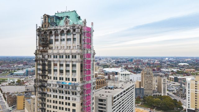 Bedrock shares rehab plans for Book Tower in Detroit