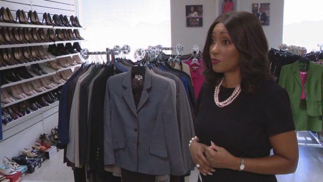 Detroit nonprofit organization helps people dress for employment
