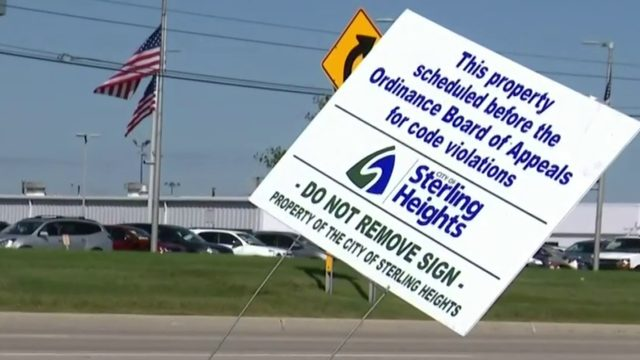 Sterling Heights residents unsure of new code violation signage