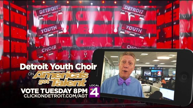 VIDEO: Local 4 Anchors/Reporters wear purple for Detroit Youth Choir