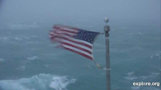 WATCH LIVE: Winds whip American flag in North Carolina as Hurricane…
