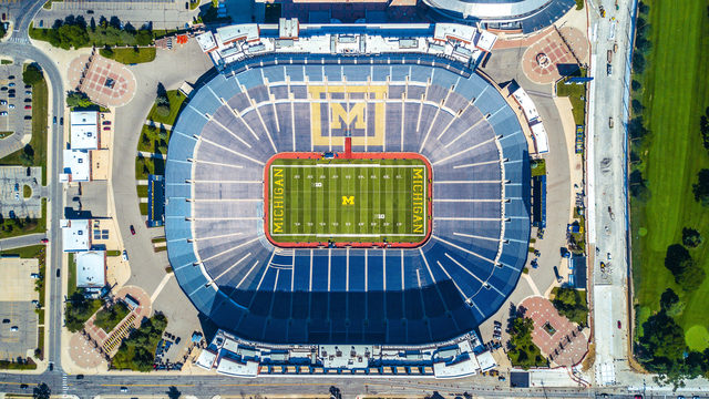 Drone flown over the Big House in Ann Arbor during season opener, 2 arrested