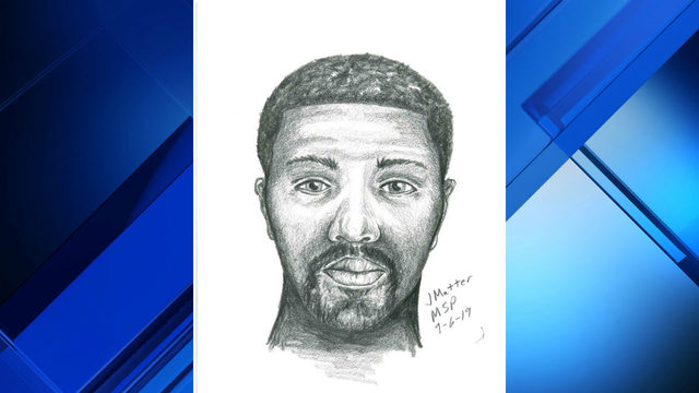 Sketch released of man accused of robbing 2 in Grosse Pointe Woods