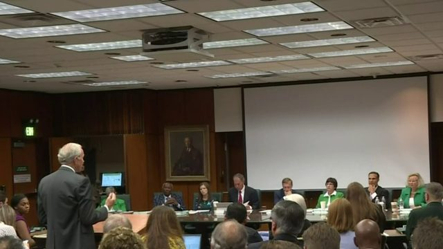 Larry Nassar victims speak at Michigan State board of trustees meeting…