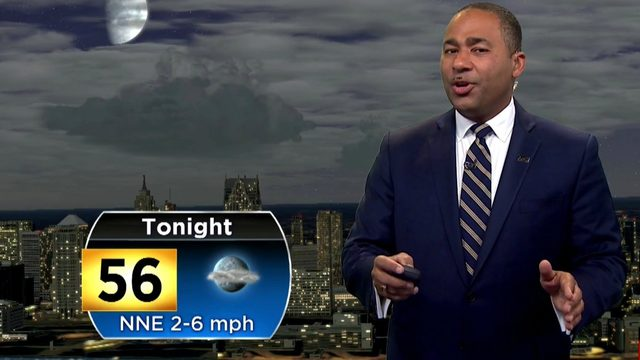 Metro Detroit weather: Cooling off with more clouds Sunday night