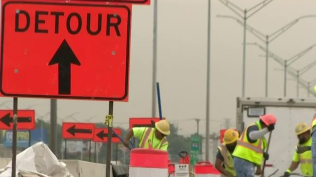Construction project to close I-94 lanes near Detroit Metro Airport…