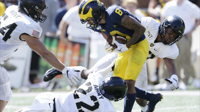 How Ronnie Bell came up clutch time after time for Michigan football vs. Army