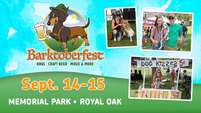 Bring your pet to our Local 4 tent at Barktoberfest in Royal Oak this weekend!